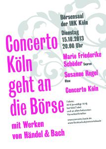 Concerto Köln geht an die Börse