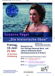 Susanne Regel: Die historische Oboe